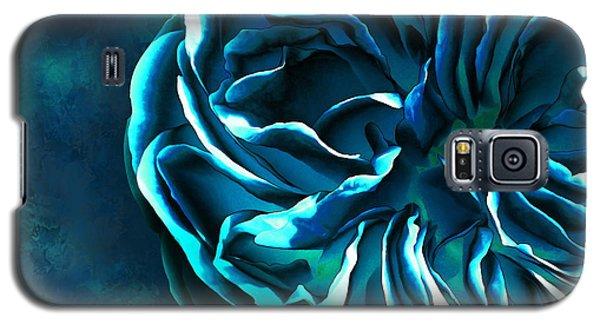 Artistique Rose Blue Galaxy S5 Case