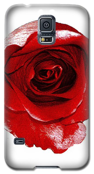 Artpaintedredrose Galaxy S5 Case
