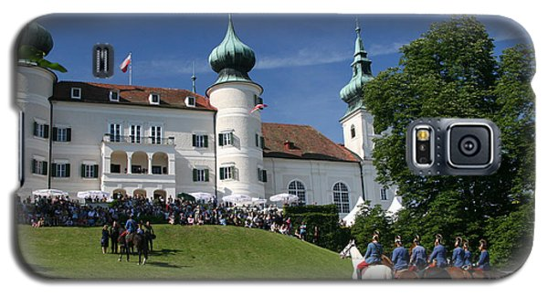 Galaxy S5 Case featuring the photograph Artstetten Castle In June by Travel Pics