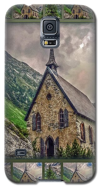 Galaxy S5 Case featuring the photograph Mountain Chapel by Hanny Heim