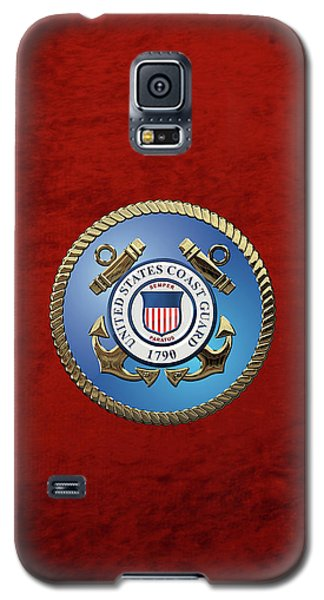 U. S. Coast Guard - U S C G Emblem Galaxy S5 Case