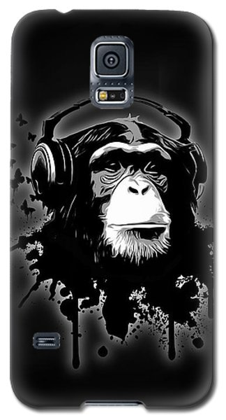 Monkey Business - Black Galaxy S5 Case by Nicklas Gustafsson
