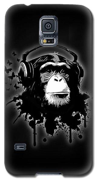 Monkey Business - Black Galaxy S5 Case by Nicklas Gustafsson