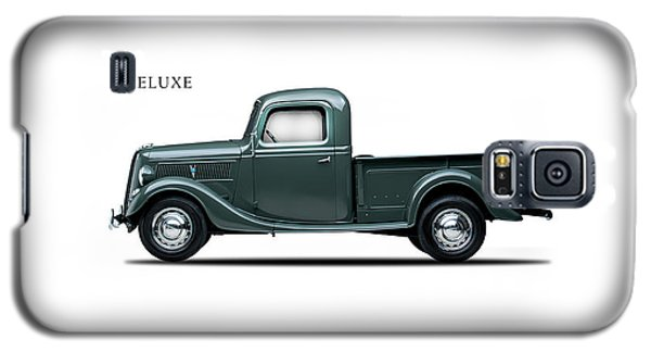 Ford Deluxe Pickup 1937 Galaxy S5 Case by Mark Rogan