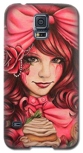 Strawberry Galaxy S5 Case by Sheena Pike