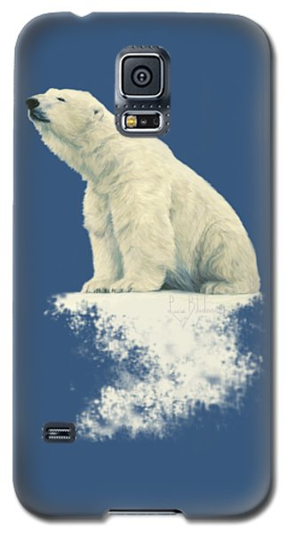 Polar Bear Galaxy S5 Case - Something In The Air by Lucie Bilodeau
