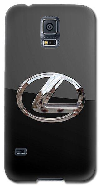 Lexus - 3d Badge On Black Galaxy S5 Case by Serge Averbukh