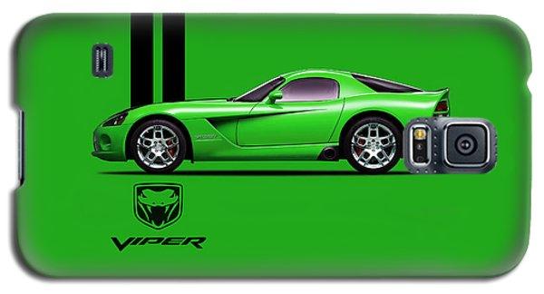 Dodge Viper Snake Green Galaxy S5 Case by Mark Rogan