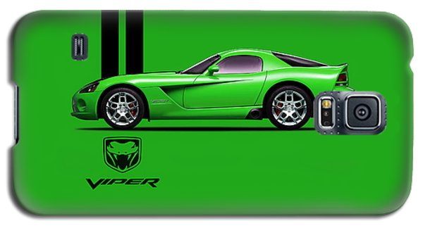 Dodge Viper Snake Green Galaxy S5 Case