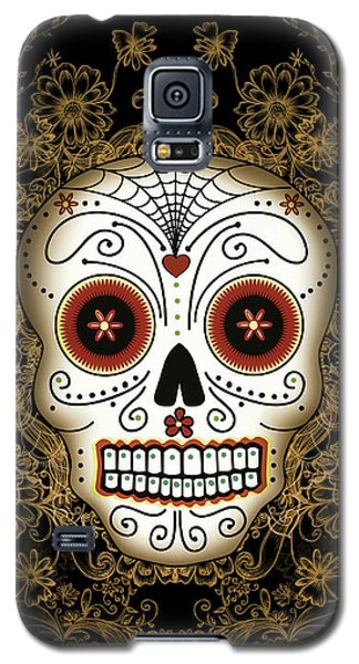 Vintage Sugar Skull Galaxy S5 Case