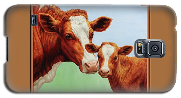 Cow Galaxy S5 Case - Cream And Sugar by Crista Forest