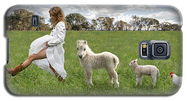 A Walk In The Country Galaxy S5 Case