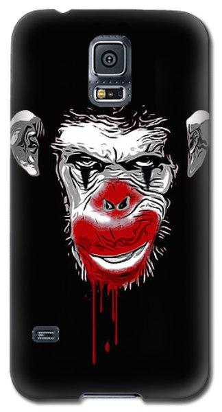 Evil Monkey Clown Galaxy S5 Case