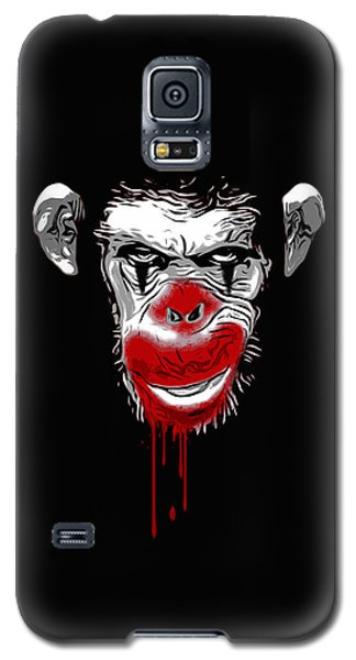 Evil Monkey Clown Galaxy S5 Case by Nicklas Gustafsson