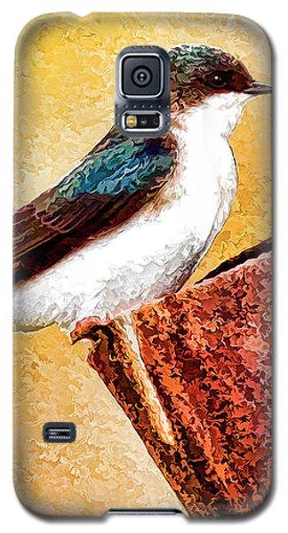 Male Tree Swallow No. 2 Galaxy S5 Case