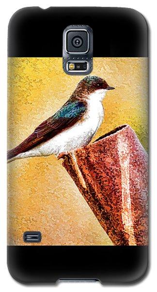 Male Tree Swallow No. 2 Galaxy S5 Case by Bill Kesler