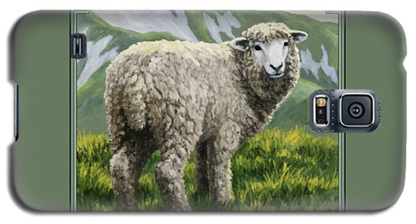 Highland Ewe Galaxy S5 Case by Crista Forest