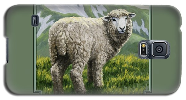 Highland Ewe Galaxy S5 Case by Crista Forest