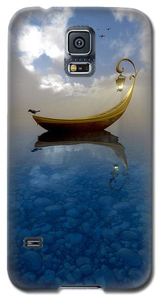 Blackbird Galaxy S5 Case - Narcissism by Cynthia Decker