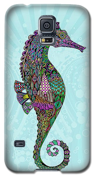 Electric Lady Seahorse  Galaxy S5 Case