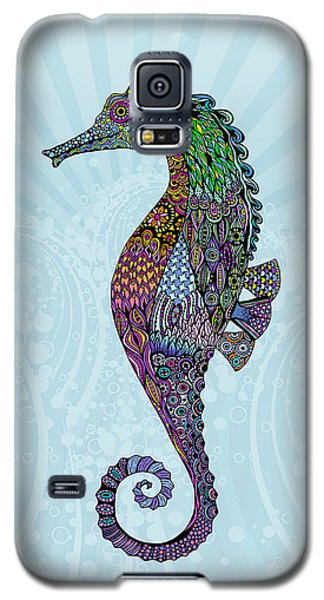 Electric Gentleman Seahorse Galaxy S5 Case