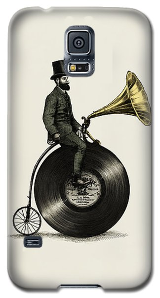 Music Man Galaxy S5 Case by Eric Fan