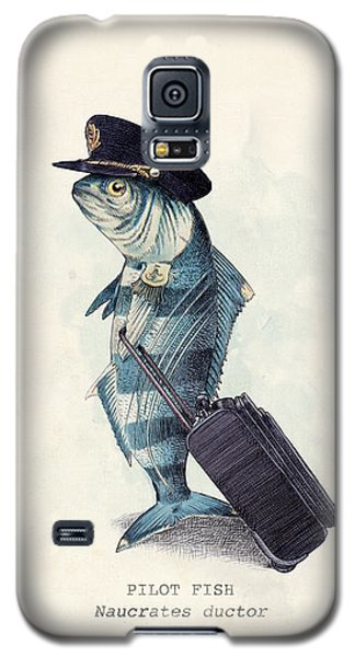 Galaxy S5 Case - The Pilot by Eric Fan