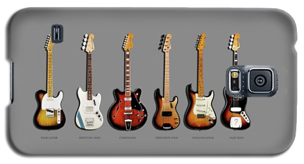 Music Galaxy S5 Case - Fender Guitar Collection by Mark Rogan