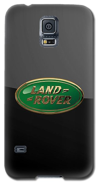 Land Rover - 3d Badge On Black Galaxy S5 Case