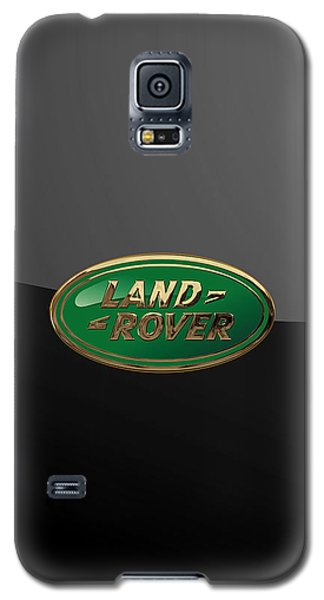 Land Rover - 3d Badge On Black Galaxy S5 Case by Serge Averbukh