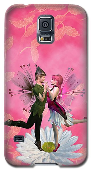 Love In Bloom Galaxy S5 Case by Methune Hively
