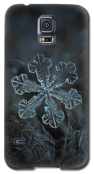 Snowflake Photo - Vega Galaxy S5 Case