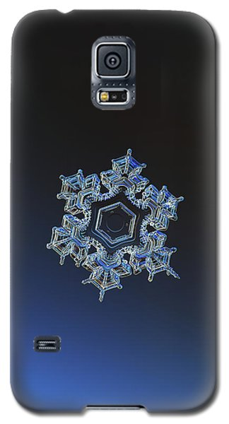 Snowflake Photo - Spark Galaxy S5 Case