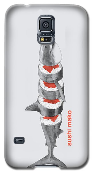 Sushi Mako Galaxy S5 Case