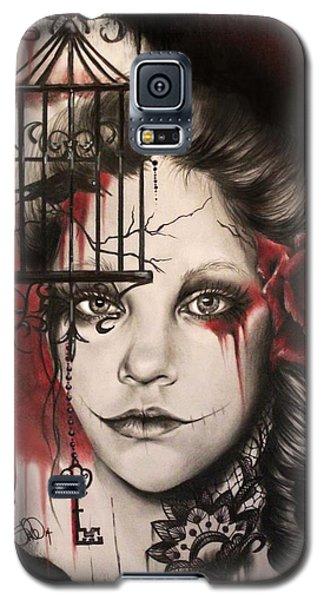 Inner Demons  Galaxy S5 Case by Sheena Pike