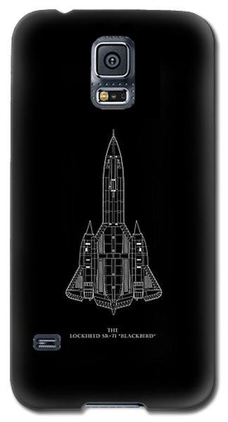 The Lockheed Sr-71 Blackbird Galaxy S5 Case by Mark Rogan