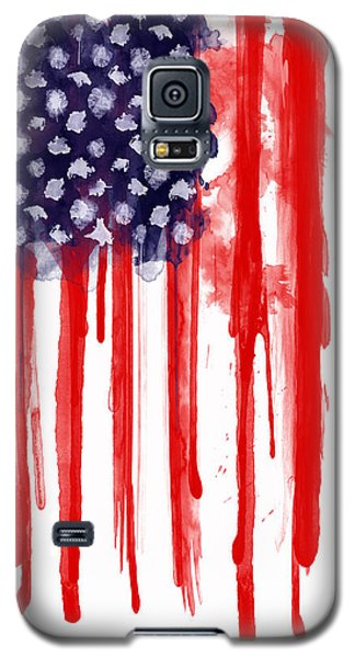 American Spatter Flag Galaxy S5 Case