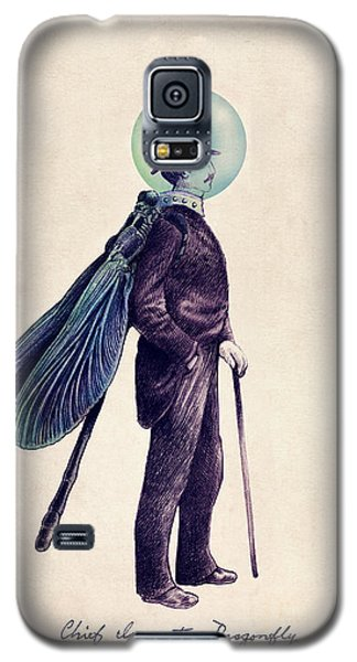 Inspector Dragonfly Galaxy S5 Case by Eric Fan