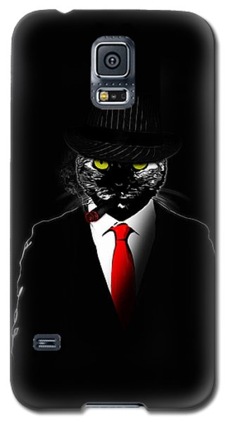 Mobster Cat Galaxy S5 Case