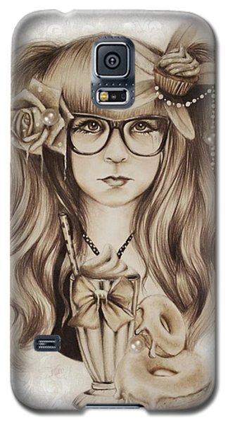 Vanilla Galaxy S5 Case by Sheena Pike