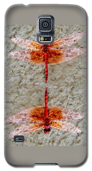 Flame Dragonfly  Galaxy S5 Case