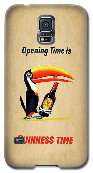 Opening Time Is Guinness Time Galaxy S5 Case by Mark Rogan