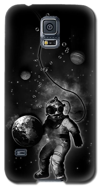 Deep Sea Space Diver Galaxy S5 Case