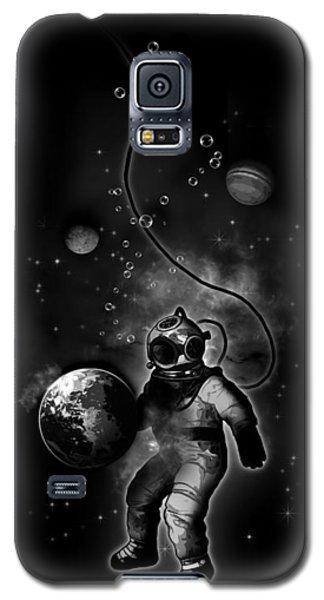 Deep Sea Space Diver Galaxy S5 Case