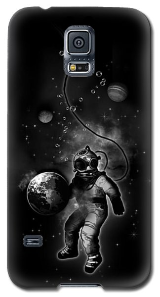 Deep Sea Space Diver Galaxy S5 Case by Nicklas Gustafsson