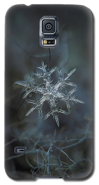 Galaxy S5 Case featuring the photograph Snowflake Photo - Rigel by Alexey Kljatov