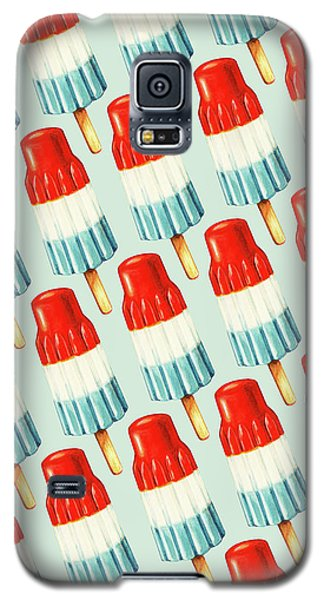 Bomb Pop Pattern Galaxy S5 Case