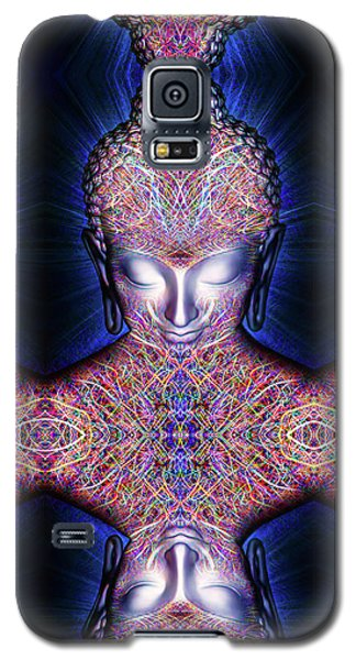 Galaxy S5 Case featuring the painting Kundalini Awakening  by Jalai Lama