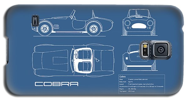 Ac Cobra Blueprint Galaxy S5 Case by Mark Rogan