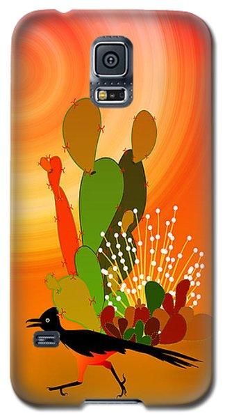 Roadrunner Sunrise Galaxy S5 Case